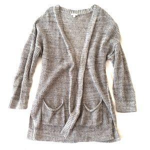Gap • knit cardigan 100% cotton